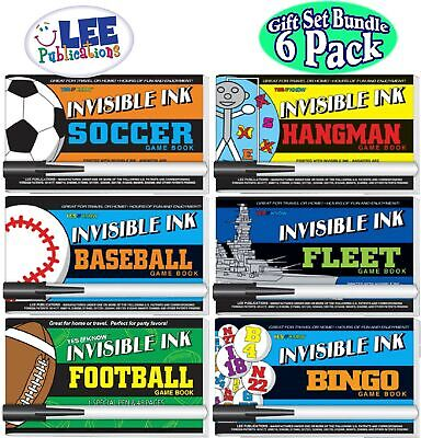 Invisible Ink Books (Lee Publications Invisible Ink: Yes & Know Sports Game Books - 6)