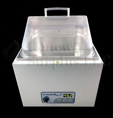 Vwr 89032-224 Digital Display Heated Shaking Water Bath Shaker 12l
