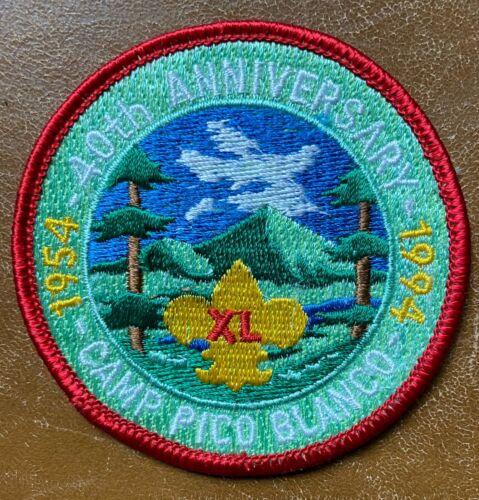 Boy Scout Camp Pico Blanco Monterey Bay Area Council 40th anniversary mint