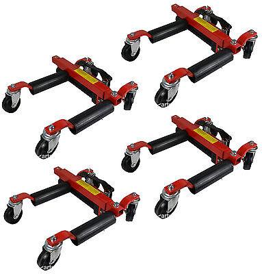 4 x 1500lb Hydraulic Wheel Dolly Skates Car Vehicle Positioning Jack Tire Tyre