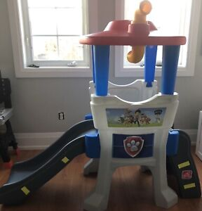 Paw Patrol lookout climber/slide