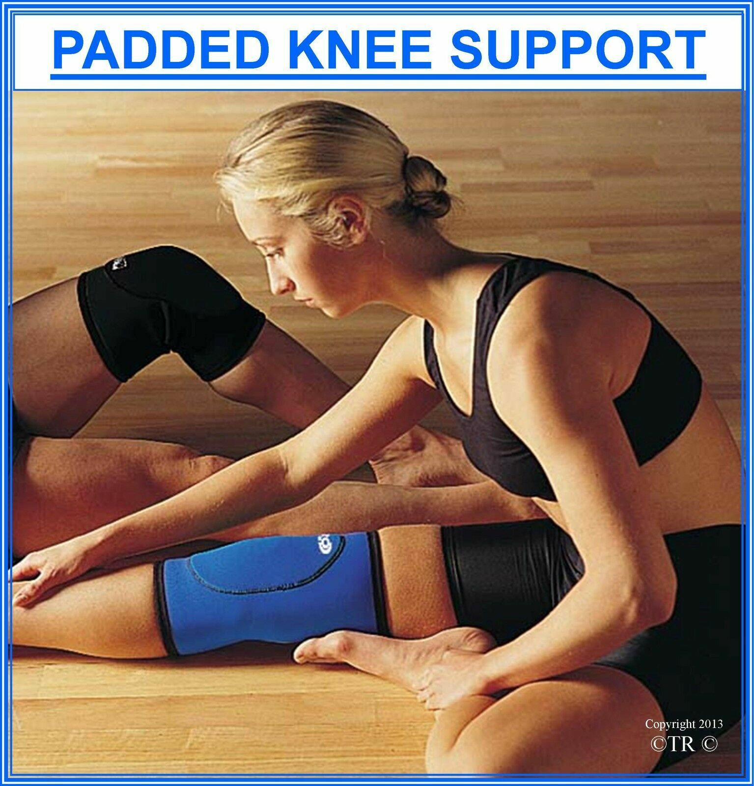 Clearance Proline Padded Knee Support Neoprene Sport Legs Protective Gear Sleeve