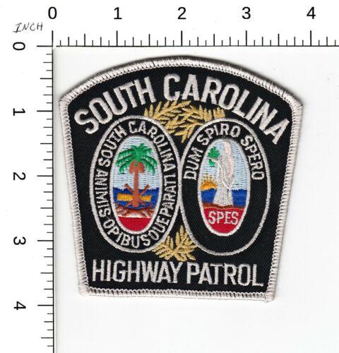 SOUTH CAROLINA HIGHWAY PATROL COLOR POLICE SHOULDER PATCH SC