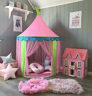 Tenda da Gioco Principessa per Ragazze, Gioca Tenda per Bambini, di Tiny (c1j)