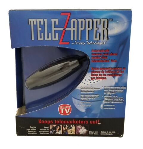 Privacy Technologies Tele Zapper MTZ900 As Seen On TV / NEW OLD STOCK