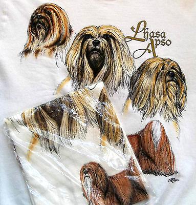 Lhasa Apso Sweatshirt & T-shirt Set  Small ( 34 ~ 36 )