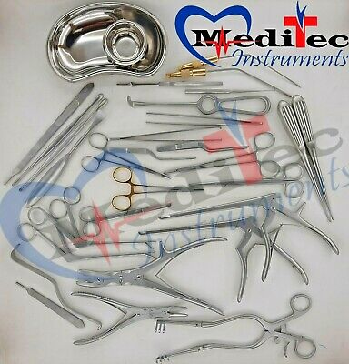 Neuro Spinal Surgery Surgical Orthopedic Instruments 32 Pcs Set Best Quality