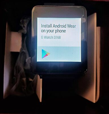 LG G Watch LG-W100 Smart Watch SMARTWATCH
