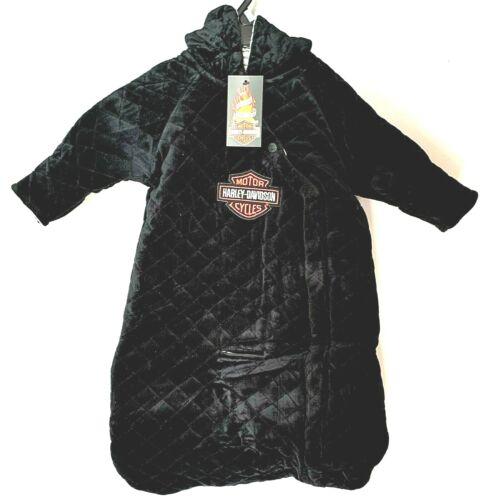 Harley Davidson® Infant Baby Boys Velour Pram Winter Snowsuit Jacket Blanket