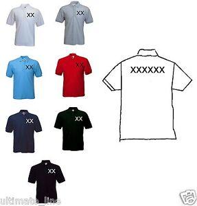 Personalised-Custom-Printed-Polo-Shirt-T-Shirt-Work-Uniform-Stag-Hen-New