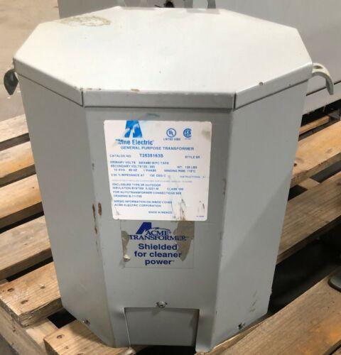 Acme T2535163S Transformer 1 Phase 10 KVA