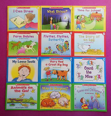 Little Leveled Readers Lot 12 Phonics Children's Books Teaching Reading