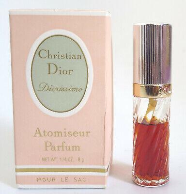 (GRUNDPREIS 1623,7€/100ML) CHRISTIAN DIOR DIORISSIMO 8g ATOMISEUR PARFUM VINTAGE