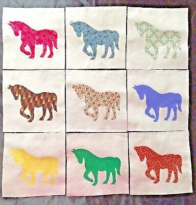 Lot of 9 Fabric 6
