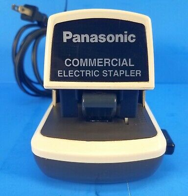 Panasonic Heavy Duty Electric Stapler Staple Commercial As-300n