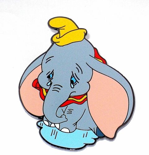 LE RARE Disney Pin✿Baby Dumbo Elephant Small World Tears Crying SIGNED Holden LE