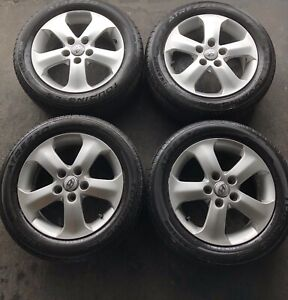 205/55/16 Sailun Atrezzo All Seasons On Hyundai Alloys 5x114.3mm