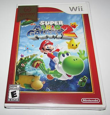 $22.97 - Super Mario Galaxy 2 for Nintendo Wii Brand New! Factory Sealed!