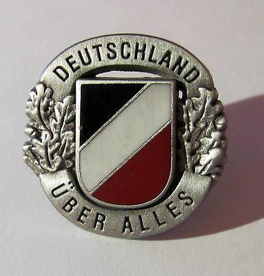 PIN DEUTSCHLAND ÜBER ALLES - schwarz weiß rot***P-353***
