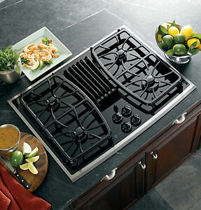 30 Gas Cooktop Downdraft Ebay