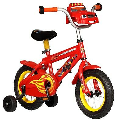 "Boys 16"" Mongoose WWE Kids Sidewalk Bike with Training Wheels in Red R7205TR"