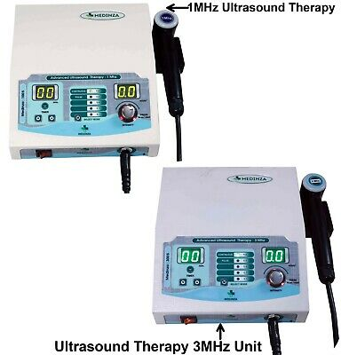 Combo Ultrasound 1mhz 3mhz Therapy Unit Ultrasound 13mhz Therasonic Machine