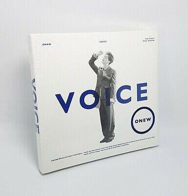 K-POP ONEW SHINee 1st Mini Album [VOICE] White Ver. CD+Booklet+Photocard Sealed