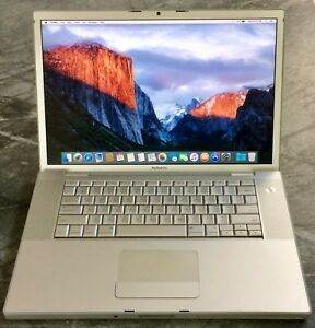 Apple MacBook Pro 15 inch, 2009, Model A1260