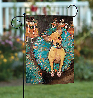 Toland Dogas Chihuahua 12.5 x 18 Puppy Dog Portrait Ballerin
