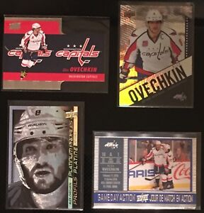 Lot of 4 UD Tim Horton's Alexander Ovechkin Cards