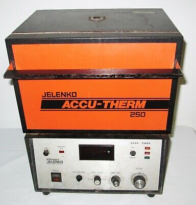 Jelenko Accu-therm 250 Furnace Burn Out Porcelain Oven - Tested - Works Well