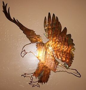 Eagle-Landing-Metal-Wall-Art-piece-from-HGMW