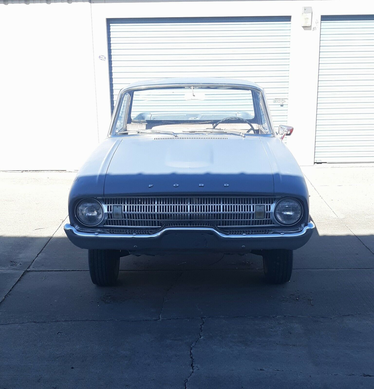 1961 Ford  Falcon Ranchero - Super Solid roller. The Perfect Hot Rod Project.