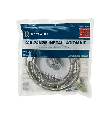 GE Universal Gas Range Installation Kit PM15X103, 48 in. Stainless FREE SHIPPING - Gas Installation Kit