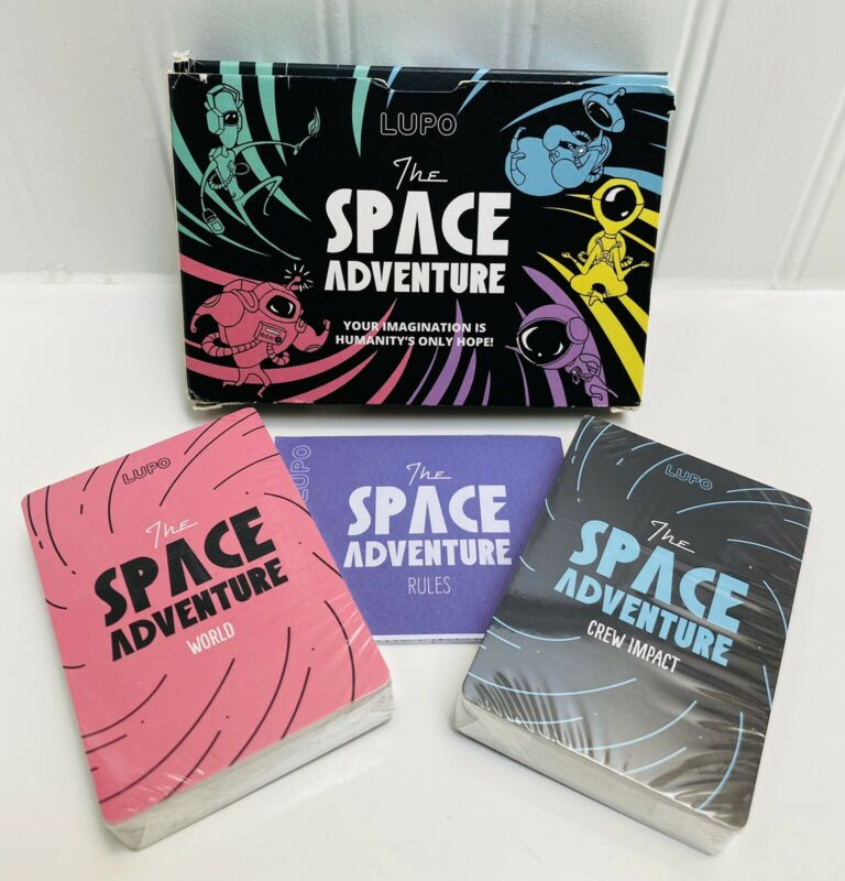 Lupo the Space Adventure Cards - Sealed Decks - Box A Little Worn