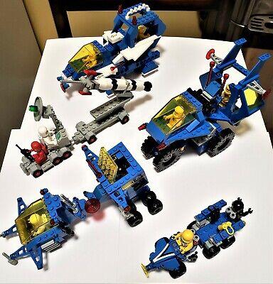 Classic Space Lego Lot Vintage 462-1 1558 6892 6926 6928 incomplete partial sets