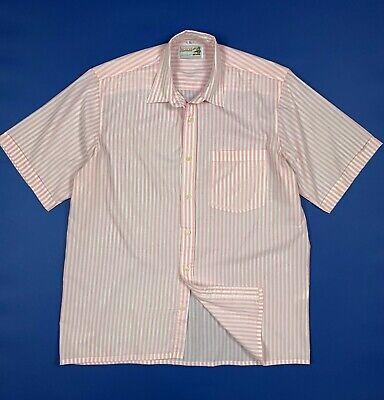 Mexican shirts camicia uomo usato XL tg 42 16 manica corta righe vintage T6043
