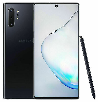 NEW Samsung Galaxy Note10+  SM-N975U  256GB  Aura Black at&t GSM UNLOCKED