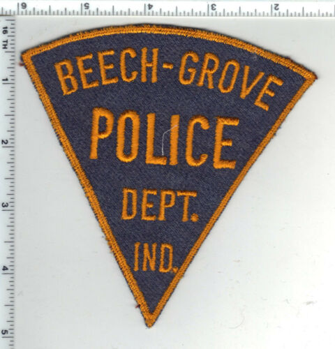 Beech-Grove Police (Indiana) 5-inch Shoulder Patch - New from the 1980