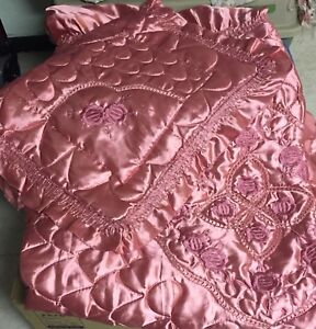Twin Satin bed cover
