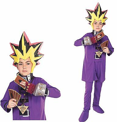 Yu Gi Oh Child Boys Deluxe Costume Yugioh Anime Cosplay Halloween - Yugioh Halloween Costume