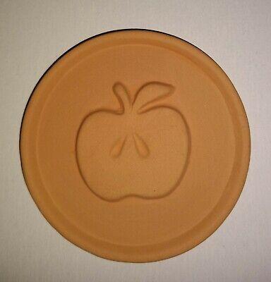 Terracotta Apple Embossed Brown Sugar Saver Disc