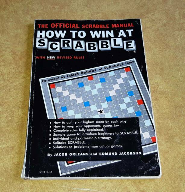 How to Win at Scrabble book – 1953 | Board Games | Gumtree