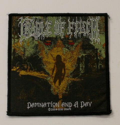 Razamatz Cradle of Filth Damnation Sew On Patch NOS New Old Stock