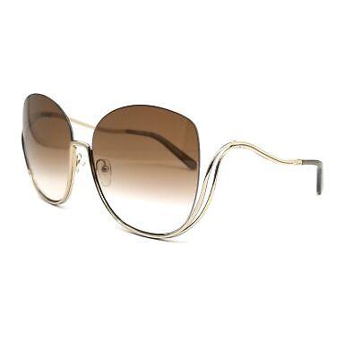 CHLOE Sunglasses CE125S 760 Silver Butterfly Women 64x17x125