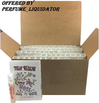 true religion perfume for women vial EDP 47 spray samples