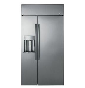 "GE Profile 48"" Built-in Refrigerator w/ Dispenser- PSB48YSKSS"
