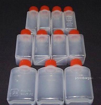 Japanese Travel Plastic Spice Soy Sauce Bottles 11pcs S-2054