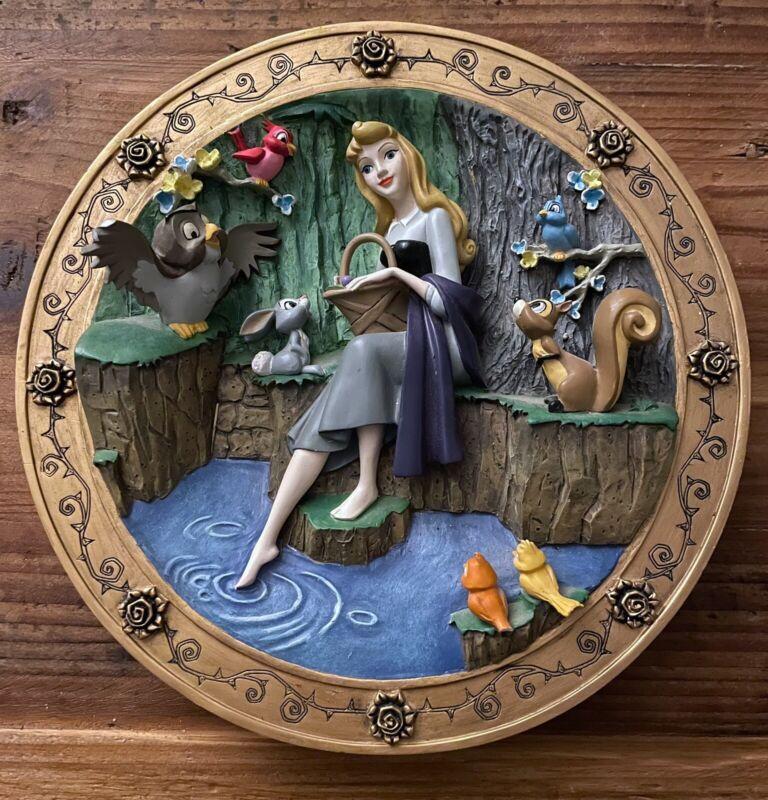 Disney Sleeping Beauty L.Ed. 3D Plate
