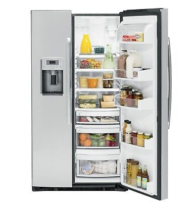 GE Profile™ Series 21.9 Cu. Ft. Counter-Depth Side-By-Side Refrigerator (Ge Profile Side By Side Counter Depth)